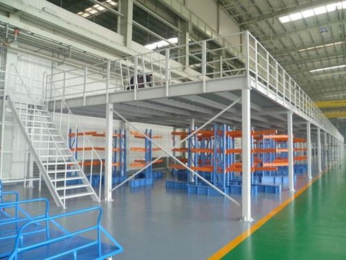 Industrial Steel Platform